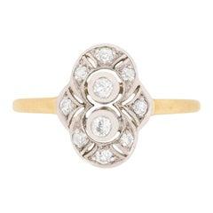 Edwardian Diamond Cluster Ring, circa 1910