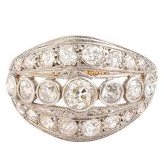 Edwardian Diamond Ring, carat 1910