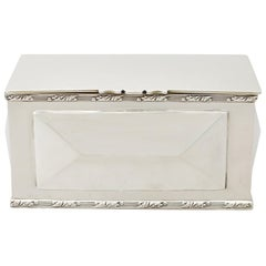 Edwardian English Sterling Silver Box