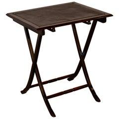 Edwardian Folding Table, circa 1900