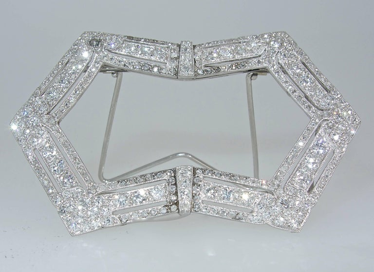 Edwardian French Diamond Platinum Picture Frame, circa 1915 In Excellent Condition For Sale In Aspen, CO