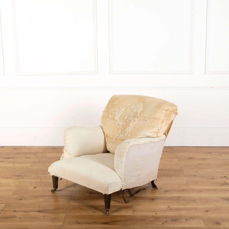 English Edwardian Howard Bridgewater Armchair For Sale