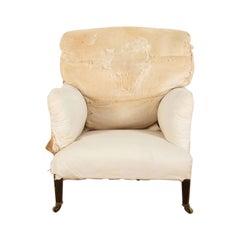 Edwardian Howard Bridgewater Armchair