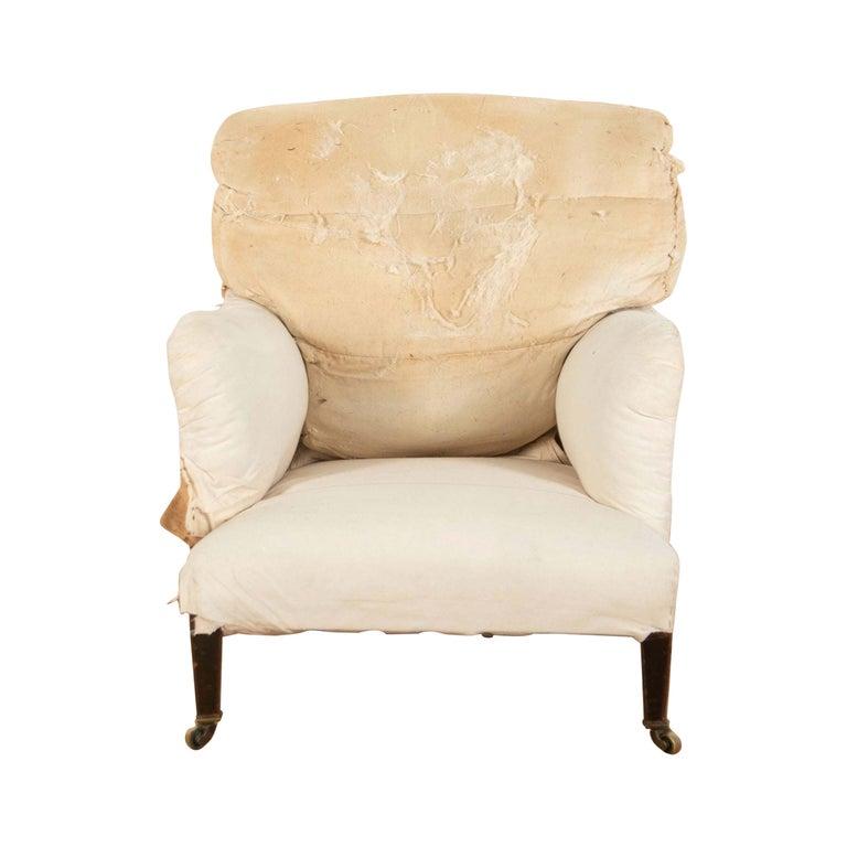 Edwardian Howard Bridgewater Armchair For Sale