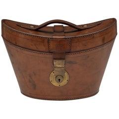 Edwardian Leather Top Hat Case, circa 1905