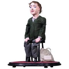 Edwardian Little Tommy Tucker, Lieutenant Walter Cole Ventriloquist Puppet Doll