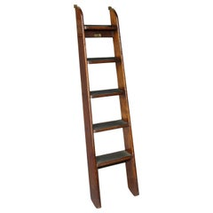 Edwardian Mahogany Bed Ladder from the R.M.S Queen Mary
