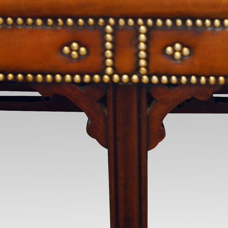 Edwardian Mahogany Camel Back Sofa For Sale 7
