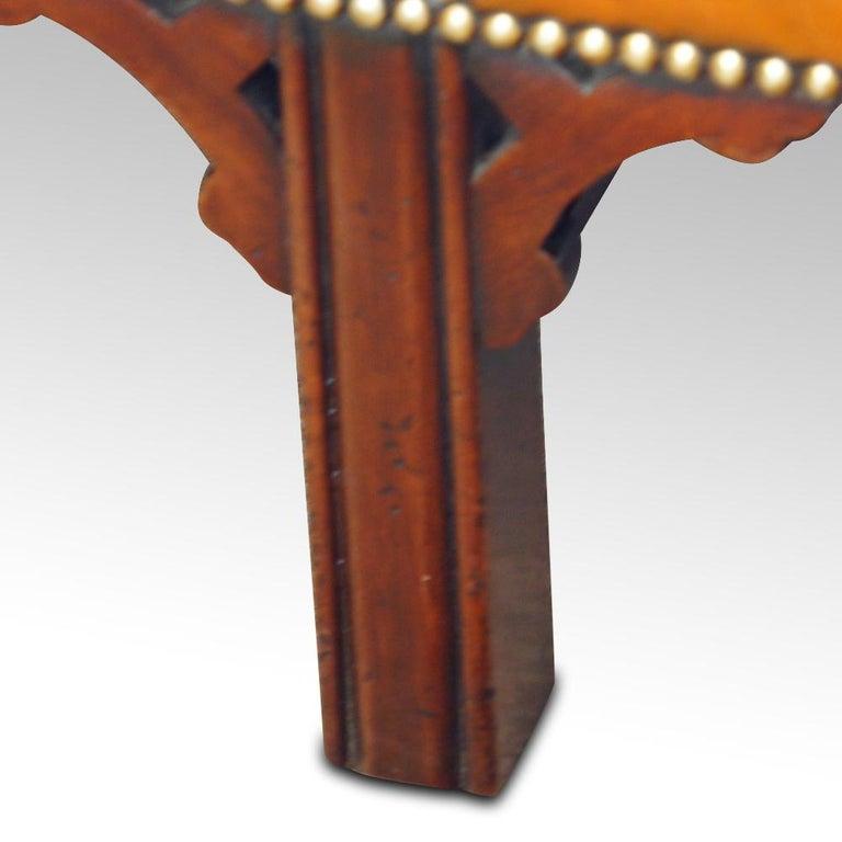 Edwardian Mahogany Camel Back Sofa For Sale 8