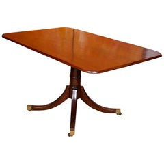 Edwardian Mahogany Dining Table Breakfast Table