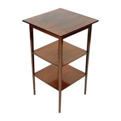 Edwardian Mahogany Lamp Table, 20th Century