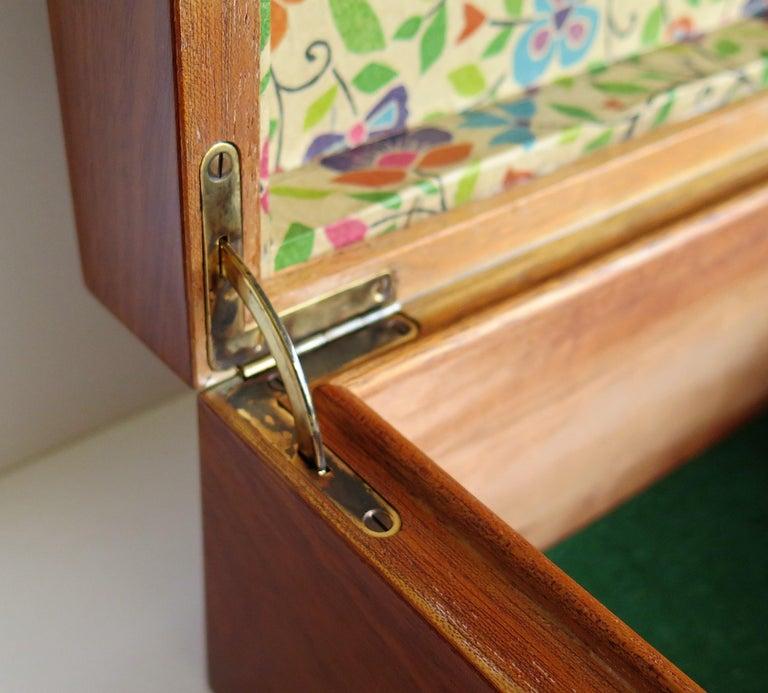 Edwardian Mahogany Lidded Box with Lock and Key Fine Quality, circa 1910 For Sale 12