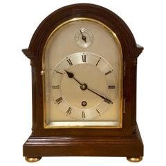 Edwardian Mahogany Mantel Clock
