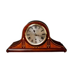 Edwardian Mahogany Westminster Chiming Mantel Clock, Hampton & Sons, Pall Mall