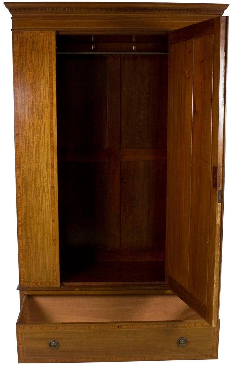 best sneakers 4c51d a98b6 Edwardian Period Mirror Door Wardrobe Armoire Closet