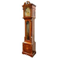 Edwardian Period Musical Longcase Clock