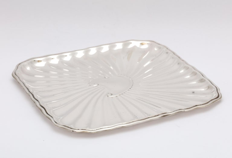 Edwardian Period Sterling Silver Card Tray, J.E. Caldwell For Sale 8