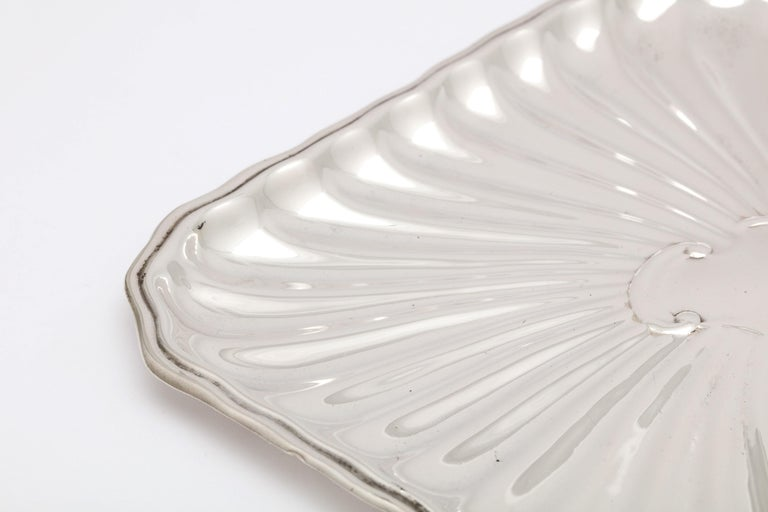 Edwardian Period Sterling Silver Card Tray, J.E. Caldwell For Sale 12