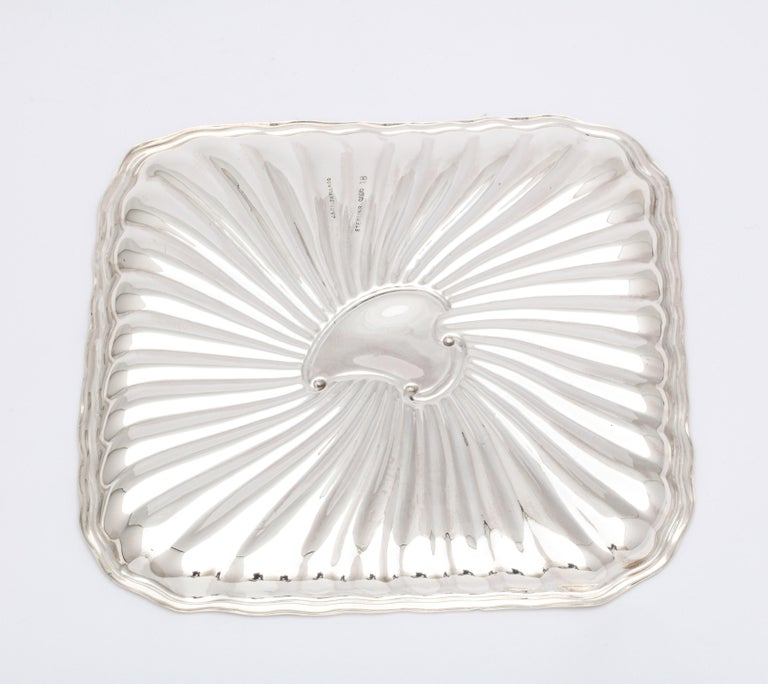 Edwardian Period Sterling Silver Card Tray, J.E. Caldwell For Sale 3