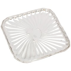 Edwardian Period Sterling Silver Card Tray, J.E. Caldwell