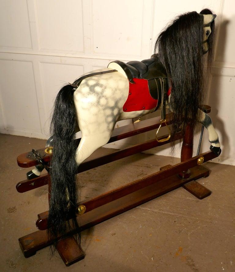 Edwardian Rocking Horse by Lines Bros Ltd 2