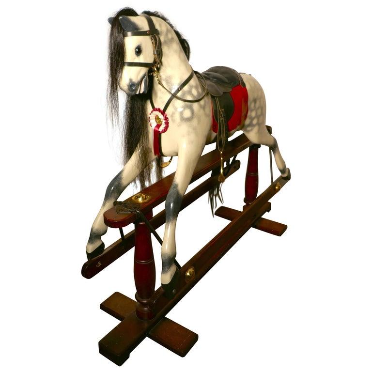 Edwardian Rocking Horse by Lines Bros Ltd