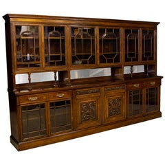 Edwardian Rosewood Bookcase from Harrods Manchester