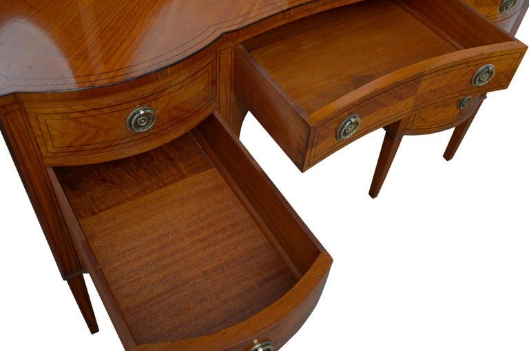 Edwardian Satinwood Dressing Table For Sale 5