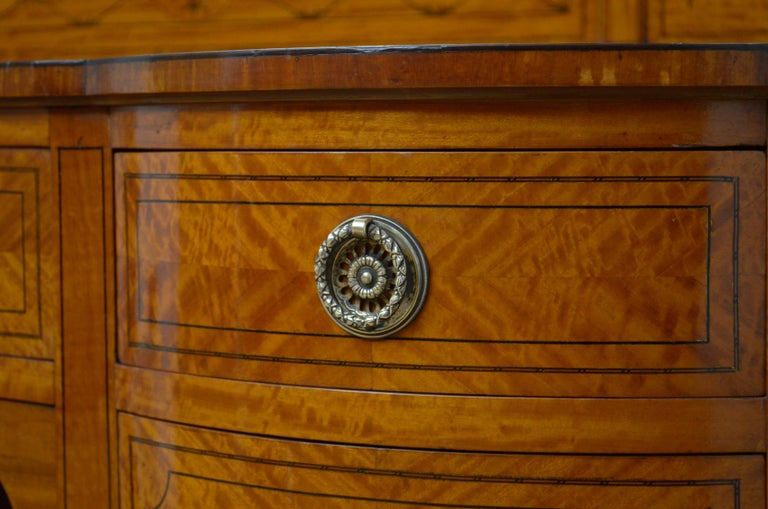 Edwardian Satinwood Dressing Table For Sale 7