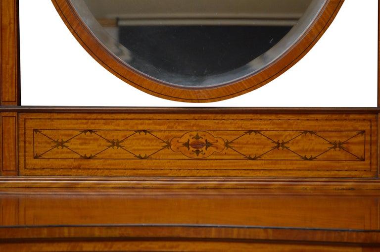 Edwardian Satinwood Dressing Table For Sale 1