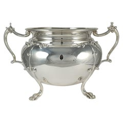 Edwardian Silver Twin-Handled Jardinière Bowl, Wakely and Wheeler, 1905