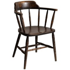 Edwardian Smokers Bow Chairs