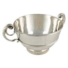 Edwardian Sterling Silver Bowl, 20th Century