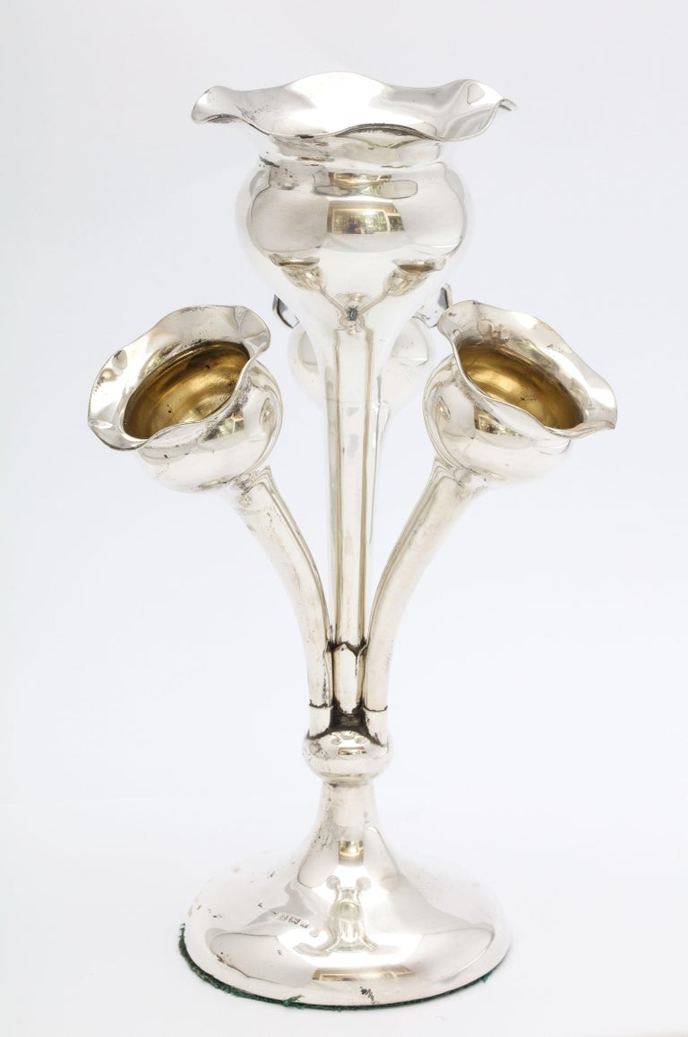 Early 20th Century Edwardian Sterling Silver Epergne/Centerpiece For Sale