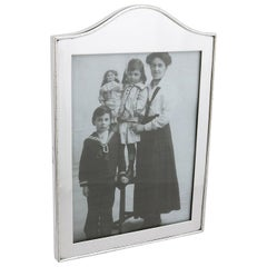 Edwardian Sterling Silver Photograph Frame by Goldsmiths & Silversmiths Co Ltd