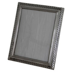 Edwardian Sterling Silver Photograph Frame