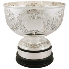 Edwardian Sterling Silver Presentation Bowl