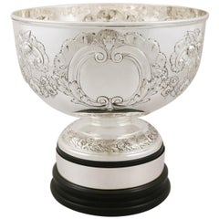 Edwardian Sterling Silver Presentation Bowl