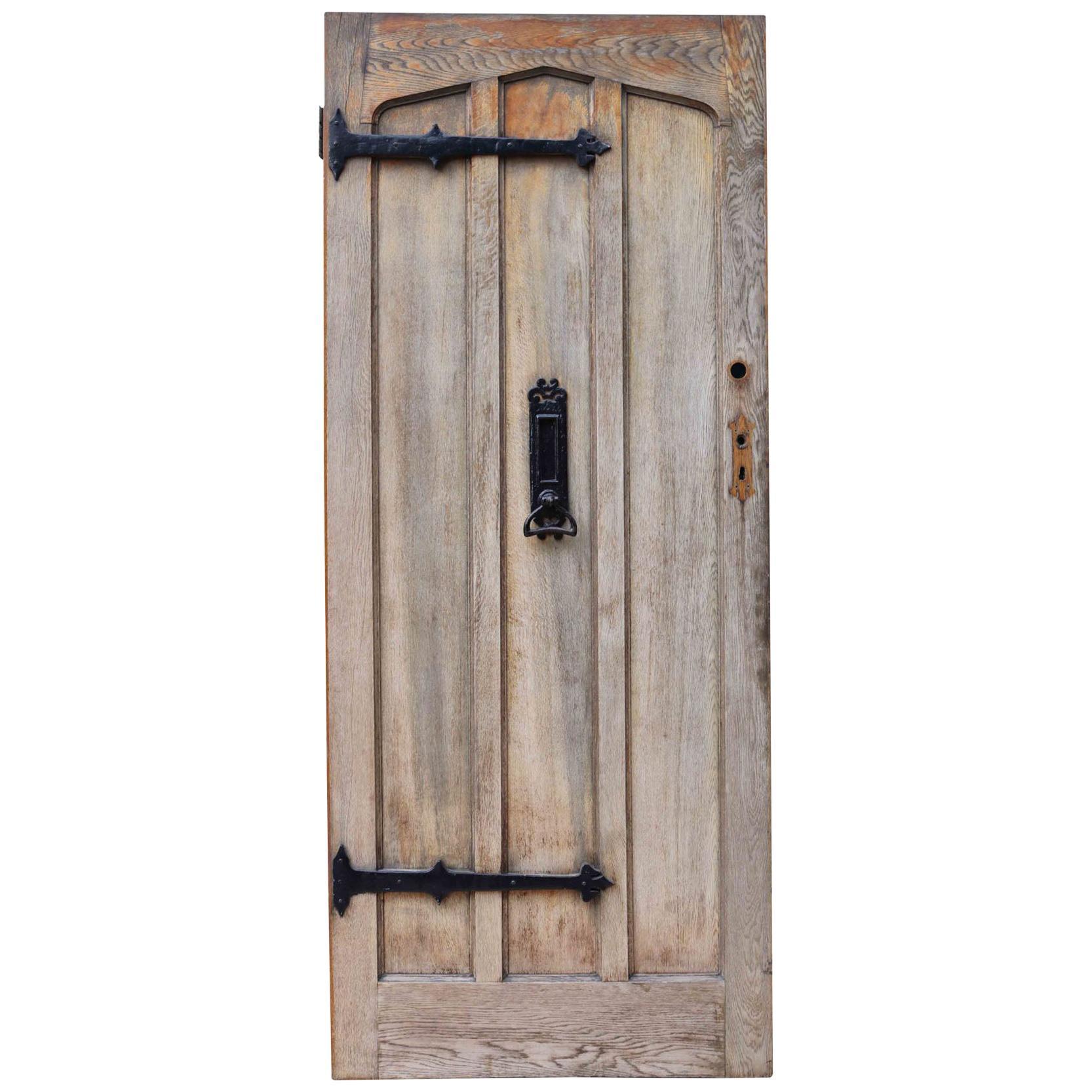 Edwardian Style Oak Front Door