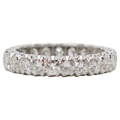 Edwardian Style Platinum Diamond Eternity Ring