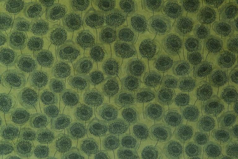 Edwardian Velvet Knole Sofa, England, circa 1910 For Sale 3