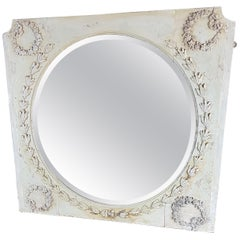 Edwardian Wall Mirror in Original Finish