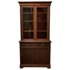 Edwardian Walnut Bookcase