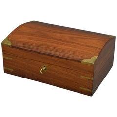 Edwardian Walnut Jewelry Box