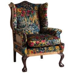 Edwardian Wingback Armchair