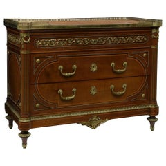 Edwards and Roberts Louis XVI Style Mounted Commode
