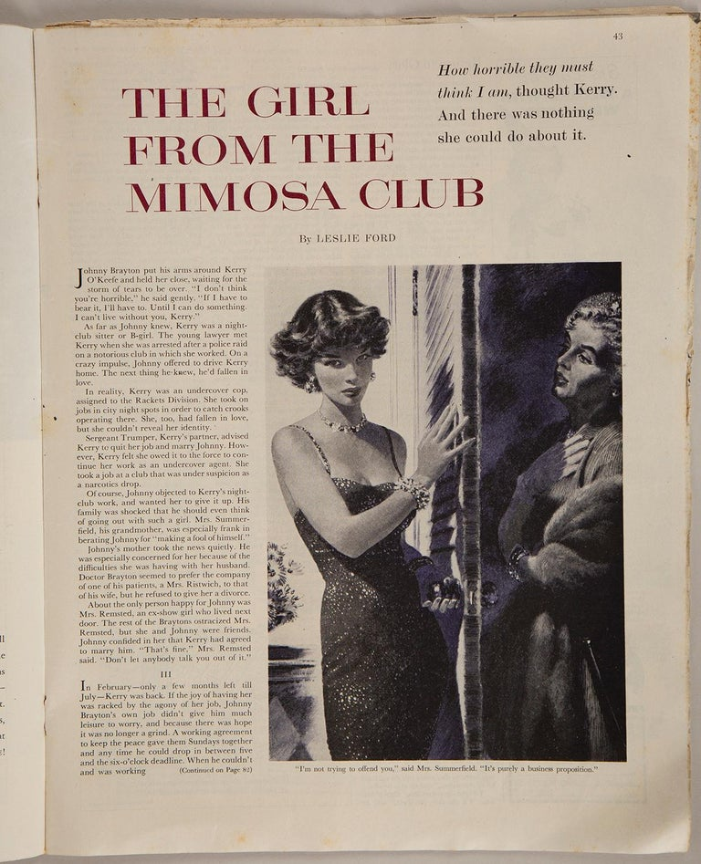 Girl from the Mimosa Club, Part II 1