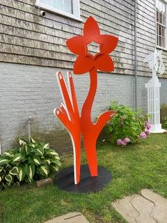 Digital Daffodil - Orange
