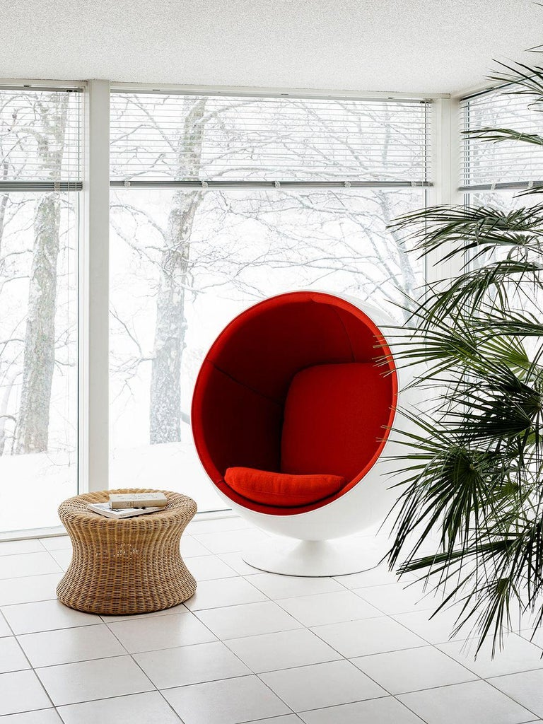 Eero Aarnio Black Poly-Rattan Elephant Boot Chair For Sale 5