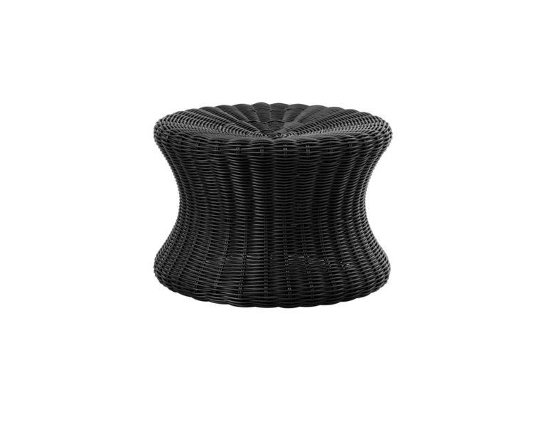 Eero Aarnio Black Poly-Rattan Elephant Boot Chair For Sale 7